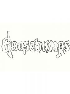 goosebumps horrorland coloring pages