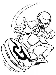 goosebumps mummy coloring pages