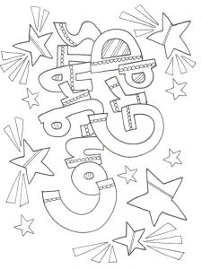 graduation cards coloring pages
