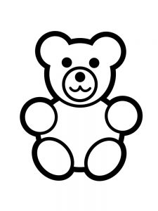 gummy bear coloring pages print