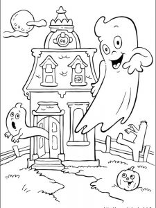 halloween coloring page adults