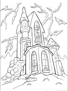 halloween coloring page free