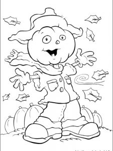halloween coloring page pdf