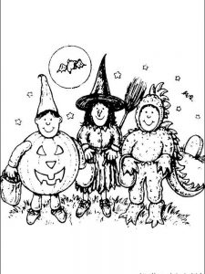 halloween coloring pages activity village