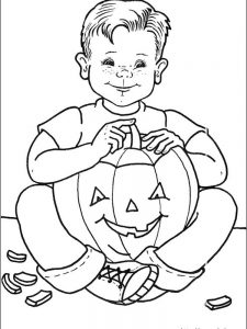 halloween coloring pages black and white