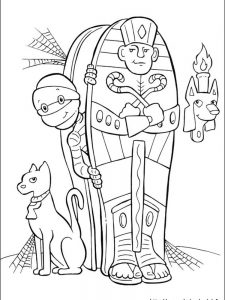halloween coloring pages cute