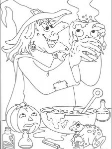 halloween coloring pages for adults printable free