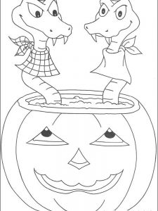 halloween coloring pages for adults to print