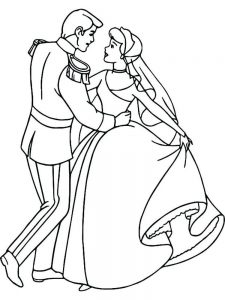 halloween dance coloring pages