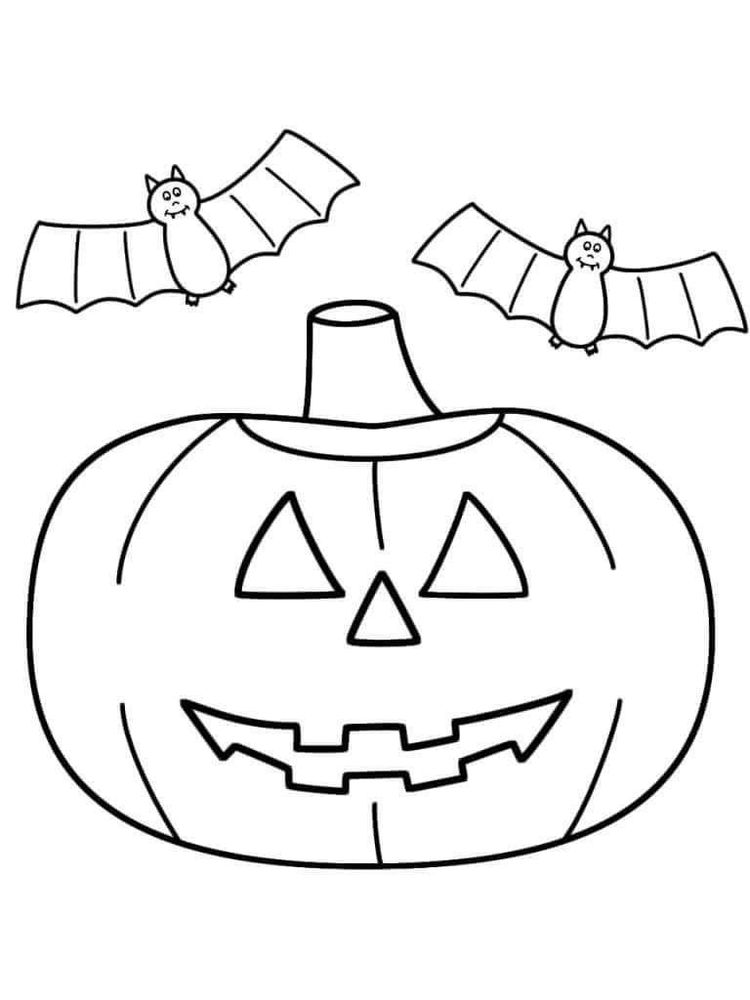 halloween jack o lantern coloring pages