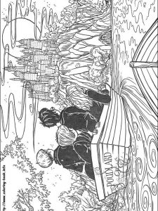 happy birthday harry potter coloring pages
