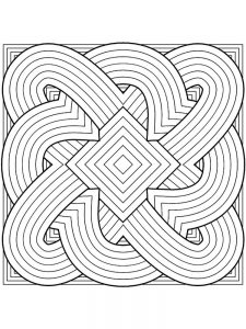 hard coloring pages download