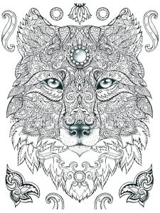 hard coloring pages to print