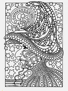 hard image coloring pages download
