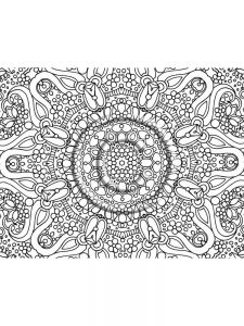 hard image coloring pages free download