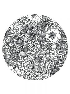 hard image coloring pages online