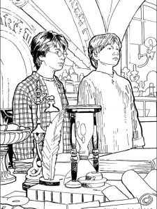 harry potter coloring pages for adults