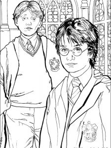 harry potter coloring pages hedwig