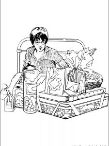 harry potter coloring pages slytherin