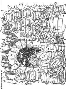 harry potter knight bus coloring pages