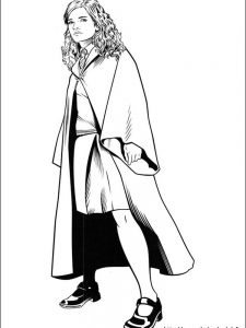 harry potter ron weasley and hermione granger coloring pages