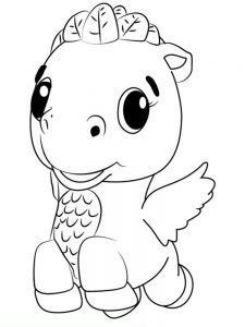 hatchimals coloring pages download