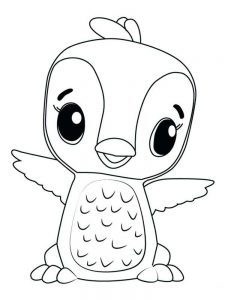 hatchimals coloring pages pdf free