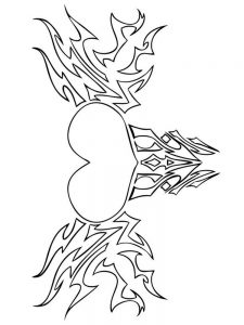 heart coloring pages anatomy 1