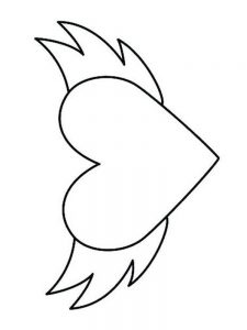 heart coloring pages printable 1