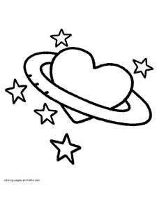 hearts coloring pages printable