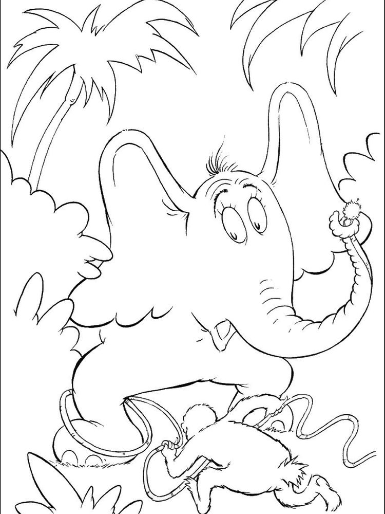 horton hears a who coloring pages image