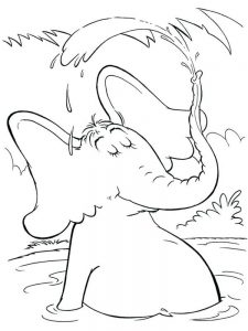 horton hears a who coloring pages print