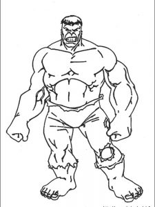 hulk coloring pages momjunction