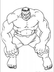hulk coloring pages printable free