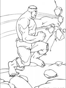 hulk coloring pages to print free