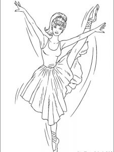 human barbie coloring pages