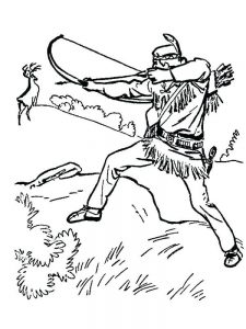 hunting coloring pages pdf