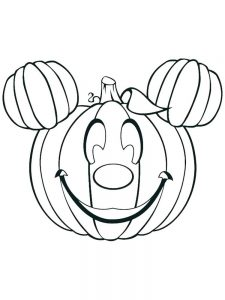 j is for jack o lantern coloring page