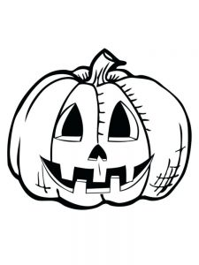 jack o lantern coloring pages free