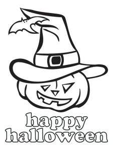 jack o lantern coloring pages pdf