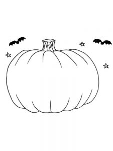 jack o lantern face coloring page