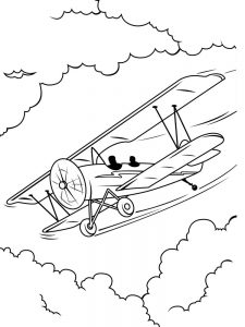 jet plane printable coloring pages