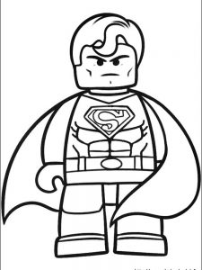 lego batman colouring pages free
