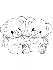 little bear coloring pages free