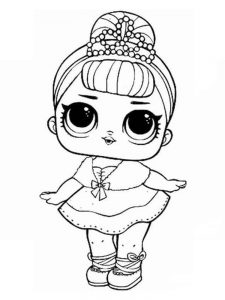 lol doll coloring page free