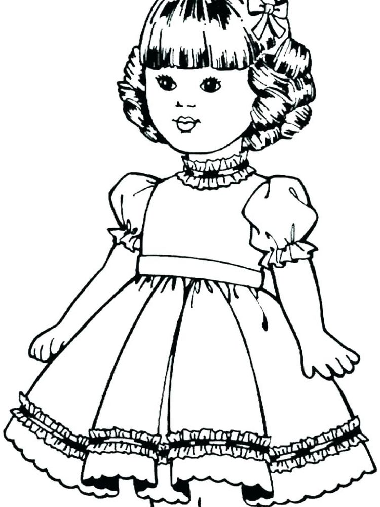 lol doll coloring pages free