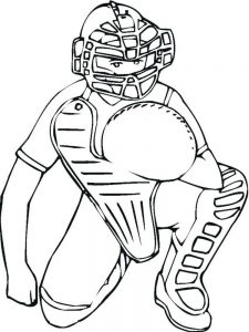 lsu baseball coloring pages