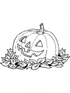 make your own jack o lantern coloring page