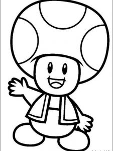 mario and bowser coloring pages 1