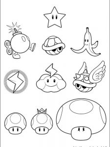 mario coloring pages bros
